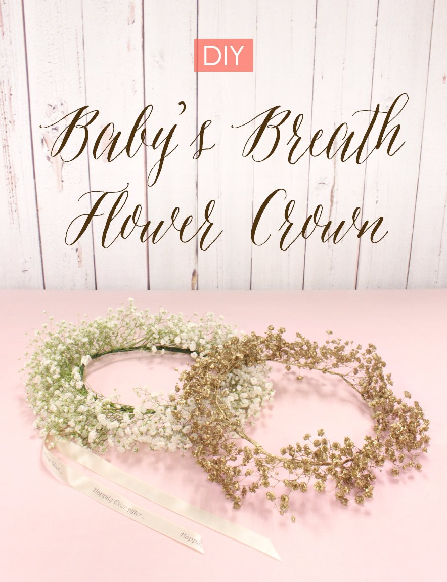 How to diy babys breath flower crown beau coup blog izmirmasajfo