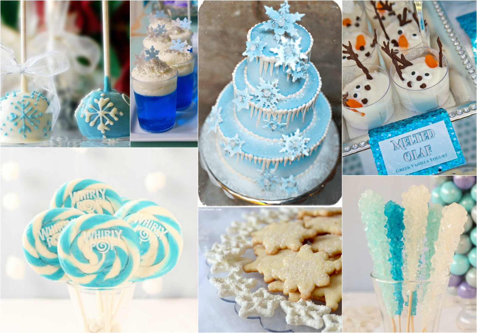 Creative ideas for hosting a frozen birthday party theme beau coup blog - S party theme decorations ...