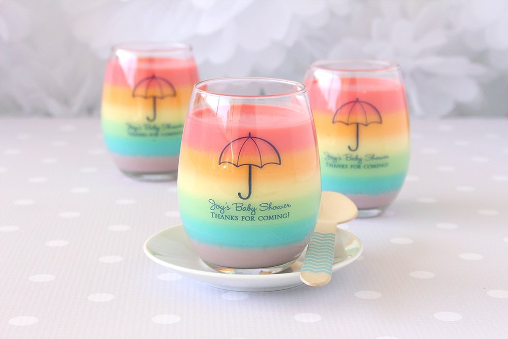ideas for a cute clouds rainbow baby shower beau coup blog