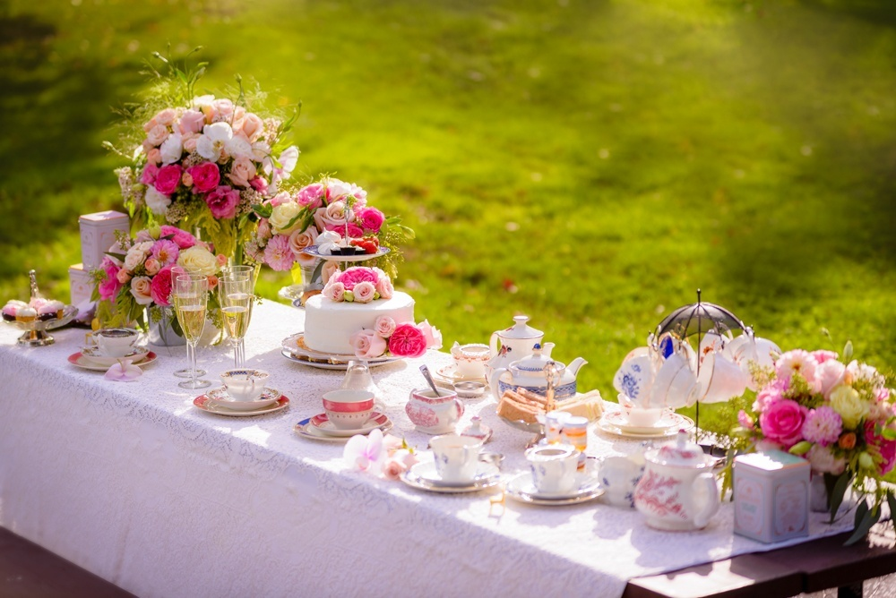 Best Tea Party Bridal Shower Ideas: A Series Of Tea-rrific Tea Party Ideas: Tea Party Themes