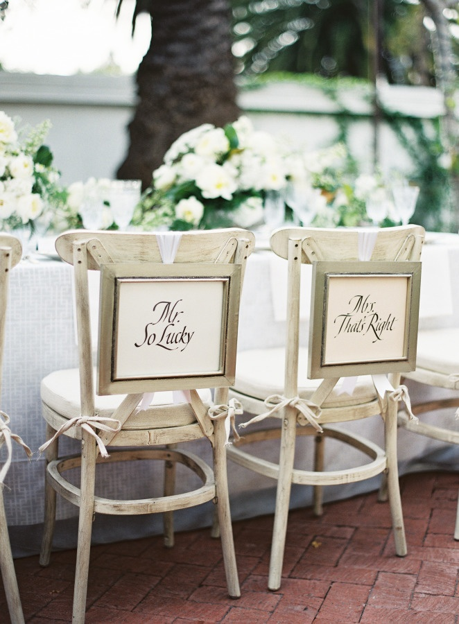 Unique Ideas For Decorating The Bride And Groom S Wedding