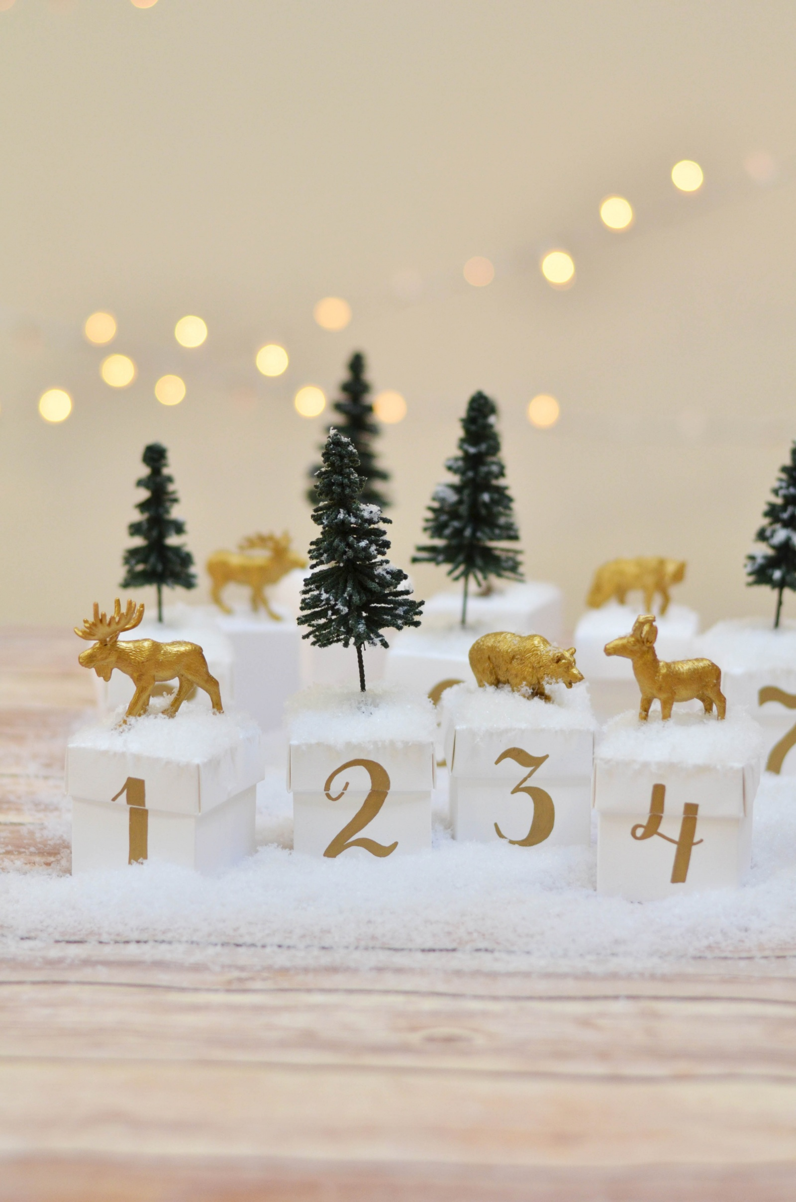 Countdown To Christmas Diy Your Own Woodland Advent