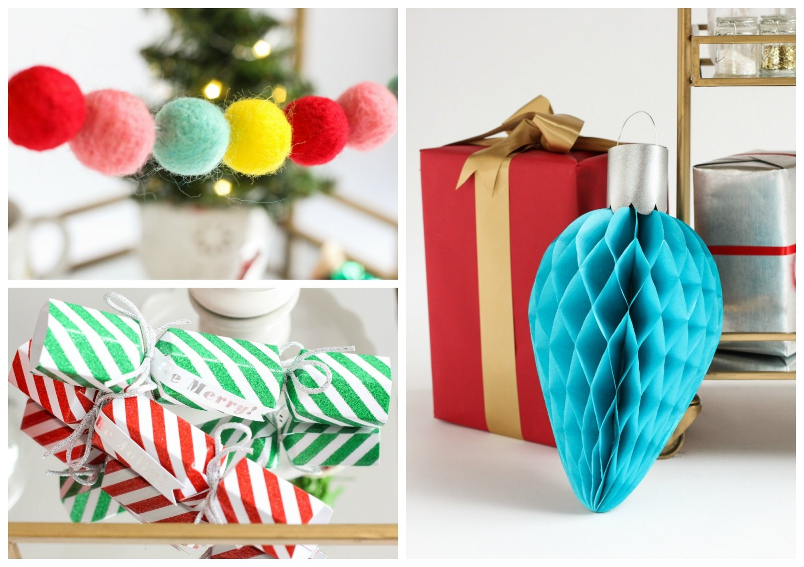 How to make your own christmas decorations - So Much In Fact That We Decided To Create A Similar One Of Our Own Find Out How To Make Your Own Diy Felt Christmas