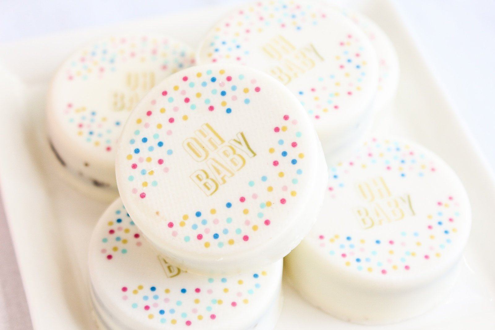 Oh Baby A Must See Confetti Inspired Baby Shower Beau Coup Blog