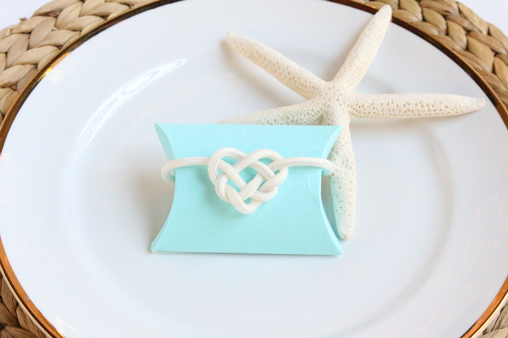 Diy Celtic Knot For Nautical Wedding Packaging Beau Coup Blog