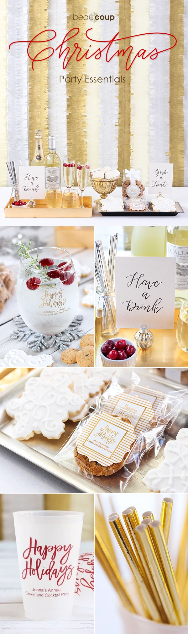 Christmas Party Must-Haves | Beau-coup