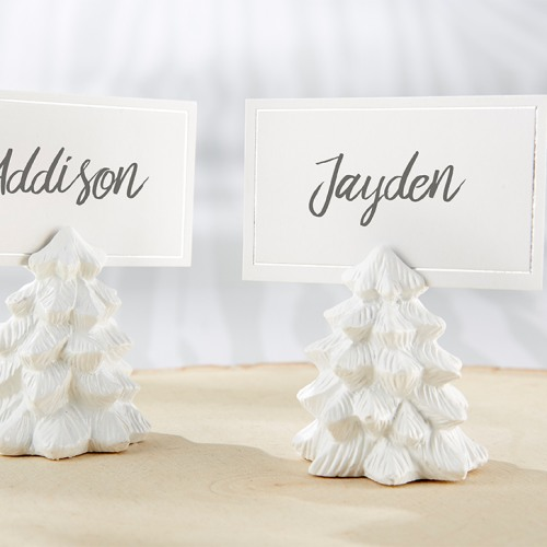 White Pine Tree Place Card Holders