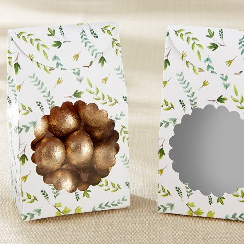 Botanical Tent Favor Boxes