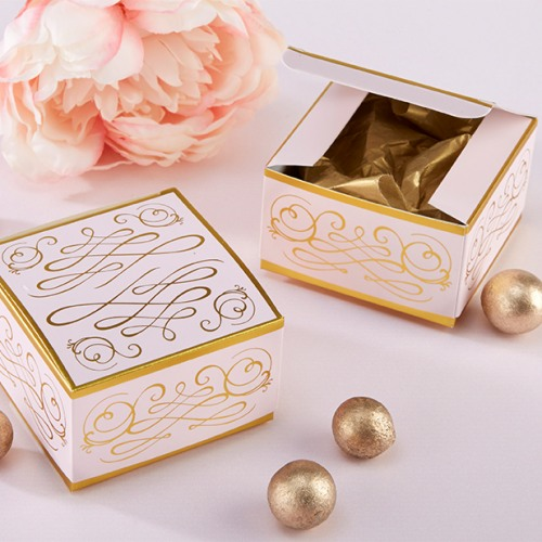 Romantic Square Favor Box