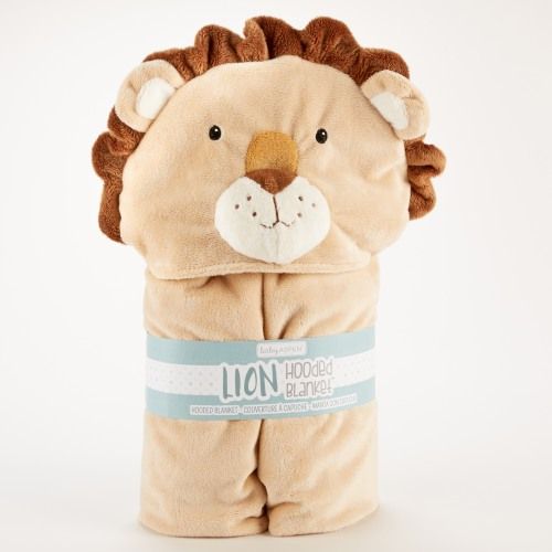 Little Lion Hooded Blanket