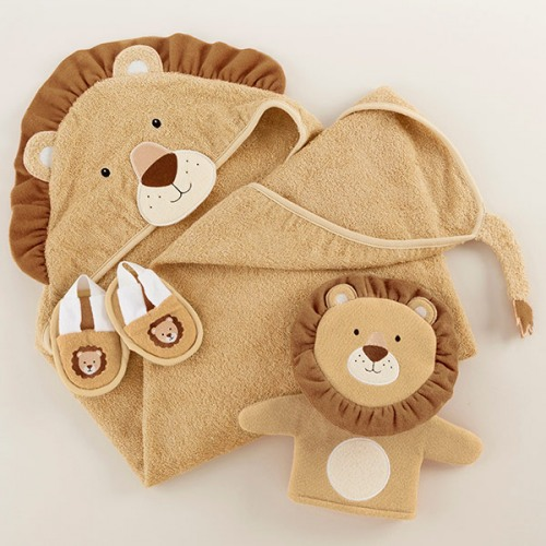 Little Lion Bath Time Gift Set