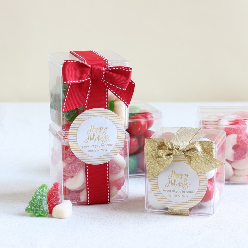 Personalized Holiday Sugar Cubes