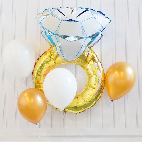 Diamond Ring Balloon Decor Kit