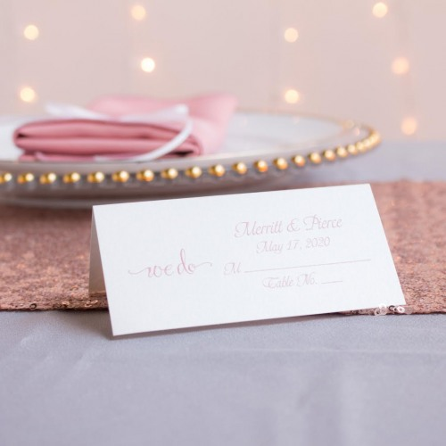 Personalized Printed Place Card