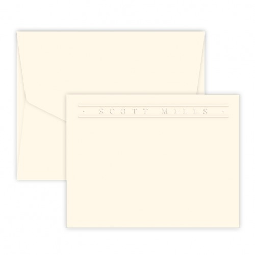 Personalized Banner Notecard