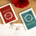 Personalized Fall Harvest Wedding Favor Seed Packets