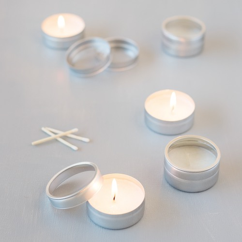 Silver Tealight Favors