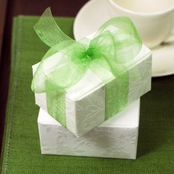 Rectangular Embossed Favor Boxes