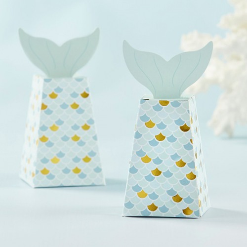 Mermaid Tail Favor Boxes