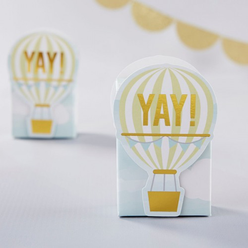 Hot Air Balloon Favor Boxes