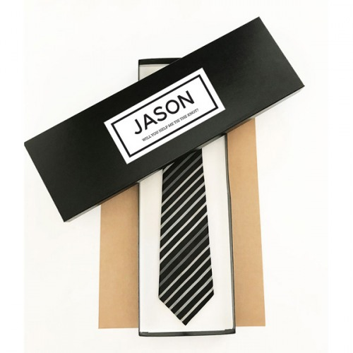Personalized Tie Boxes