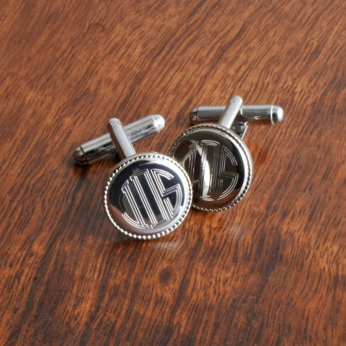 Image of Monogrammed Cufflinks