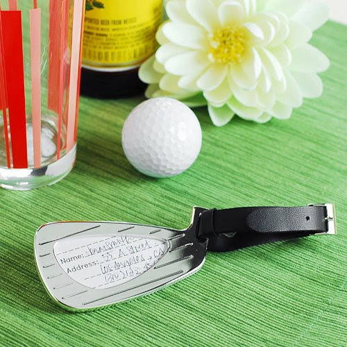 Golf Luggage Tag Favors