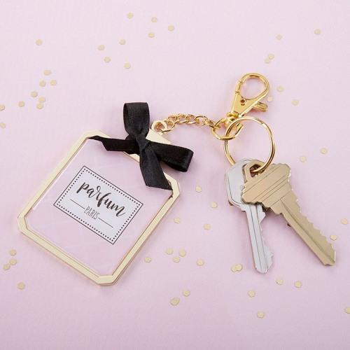 Perfume Key Chain Mirror