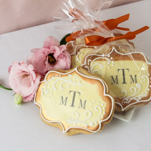 Personalized Wedding Cookies