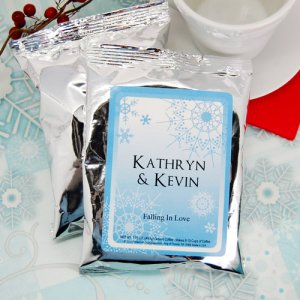 Personalized Wedding Coffee Favors