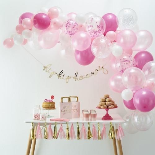 Balloon Arch Kit Pink