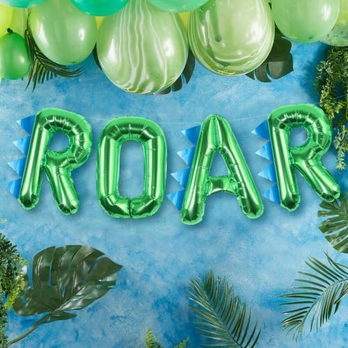 Dinosaur Party Roar Balloon Buntings