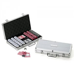 Professional Poker Kit with Personalized Case