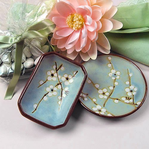 Mini Cherry Blossom Dishes & Japanese Cherry Blossom Porcelain Dish