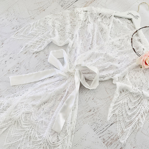 Sheer Lace Robes