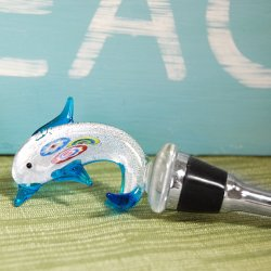 Dolphin Wine Bottle Stopper