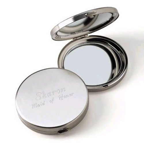 Personalized Round Compacts