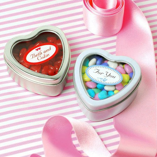 Heart Shaped Tins