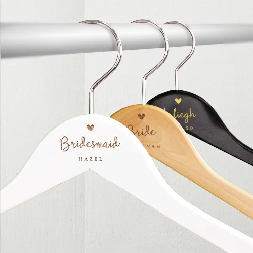 Engraved Bridal Party Hanger