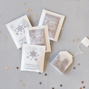 Personalized Wedding Tea Bag Favors