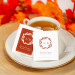 Personalized Fall Harvest Wedding Tea Bag Favors