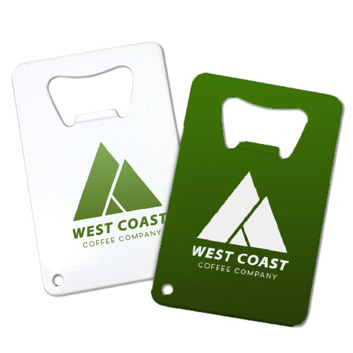 Corporate Full Color Credit Card Bottle Openers