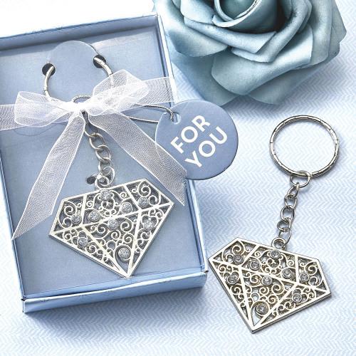 Diamond Metal Key Chain