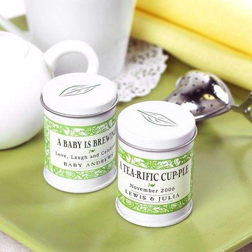 Mini Personalized Tea Tins