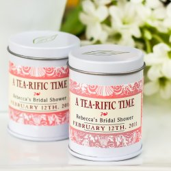 Mini Personalized Tea Tins
