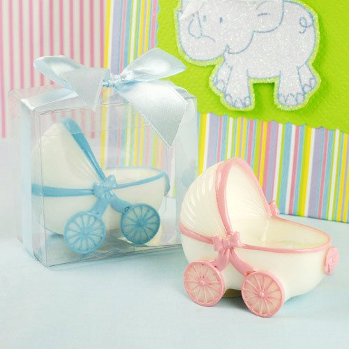 Baby Carriage Candles