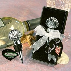 Seashell Wine Bottle Stopper