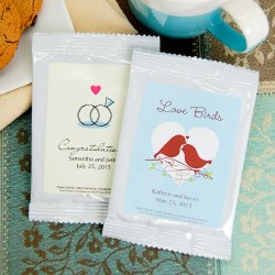 Personalized Wedding Cappuccino Mix