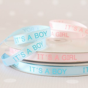 It's a Boy/Girl Ribbon