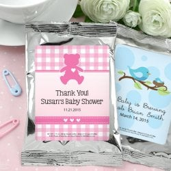 Baby Shower Personalized Coffee Favors